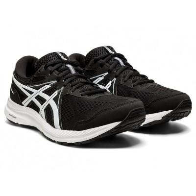 アシックス GEL-CONTEND 7 1011B039-002 メンズ シューズ 黒靴 黒スニーカー ブラック