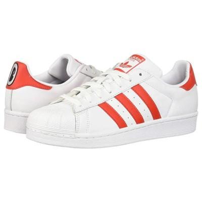 アディダス オリジナルス Superstar W レディース スニーカー Footwear White/Active Red/Core Black