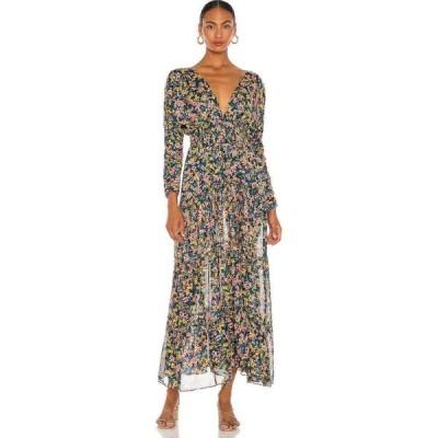 ミサロサンゼルス MISA Los Angeles レディース ワンピース ワンピース・ドレス anouska dress misa los angeles Abstract Floral
