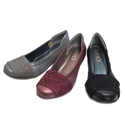 サッソー Sasso G114 バレエシューズスタイル カジュアルパンプス レディース 靴