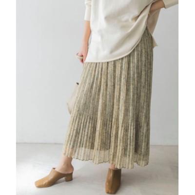 【アーバンリサーチ/URBAN RESEARCH】 UR フェードペイズリープリーツスカート