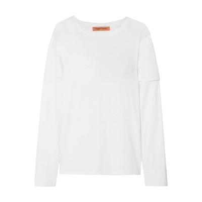 MAGGIE MARILYN T シャツ ホワイト XS オーガニックコットン 100% T シャツ