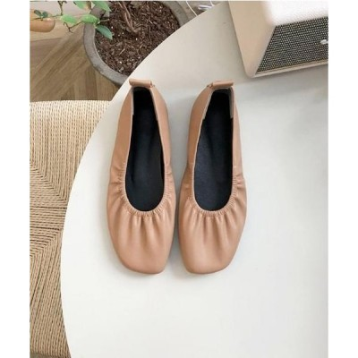 WITHMOMENT レディース フラット 573 flat shoes