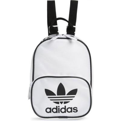 アディダス ADIDAS ORIGINALS レディース バックパック・リュック バッグ Santiago Mini Backpack White/Black