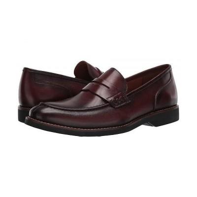 Massimo Matteo マッシオマッテオ メンズ 男性用 シューズ 靴 ローファー Bona Fide Penny Loafer - Burgundy