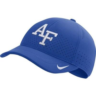 メンズ スポーツリーグ アメリカ大学スポーツ Nike Men's Air Force Falcons Blue Aerobill Classic99 Football Sideline Hat 帽子