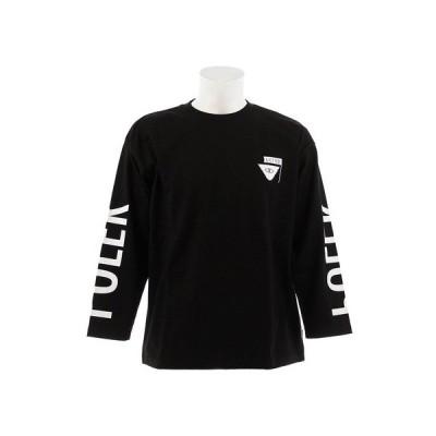 ポーラー(POLER) 【多少の傷汚れありの為大奉仕】Tシャツ メンズ 長袖 RVR SMTRELOP S18AW-POLER-005ABLK オンライン価格 (メンズ)