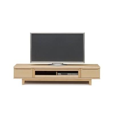 180テレビボード(幅1800mm)ハードメープル   TV台/ロー/収納/脚付き/ラック   //北欧/OUTLET/和/風/カフェ/アジアン/ナチュラル//