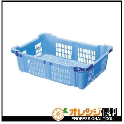 積水テクノ成型 積水 BK型コンテナ(バスケット型) BK−40 青 BK-40 B 【498-3335】