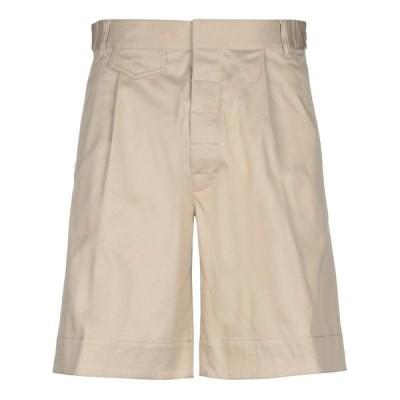 DSQUARED2 ショートパンツ&バミューダパンツ  メンズファッション  ボトムス、パンツ  ショート、ハーフパンツ サンド