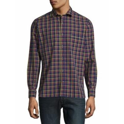 ロバートタルボット メンズ カジュアル ボタンダウンシャツ Lazar Casual Cotton Sportshirt