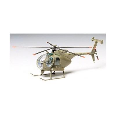 タミヤ 1/72 ウォーバードコレクション No.09 アメリカ陸軍 ヒューズ AH-6A ナイトフォックス プラモデル 60709