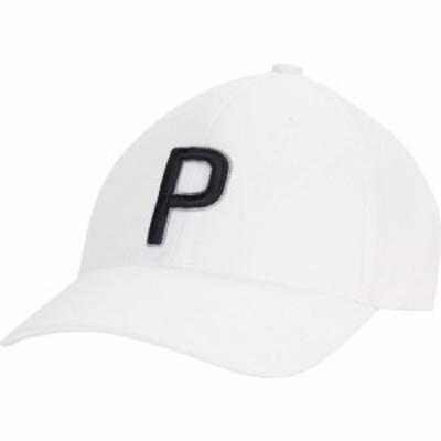 プーマ PUMA Golf レディース キャップ 帽子 P Adjustable Cap Bright White