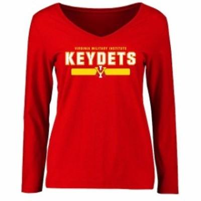 Fanatics Branded ファナティクス ブランド スポーツ用品  Virginia Military Institute Keydets Womens Red Team Stro