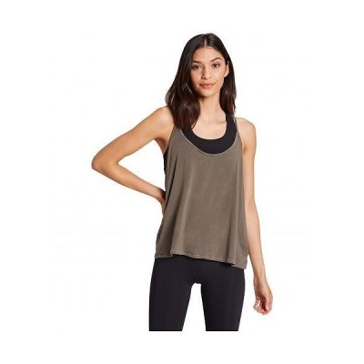 Niyama Sol レディース 女性用 ファッション アクティブシャツ Melrose Tank - Matcha