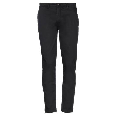 LABORATORI ITALIANI パンツ ブラック 44 コットン 97% / ポリウレタン 3% パンツ