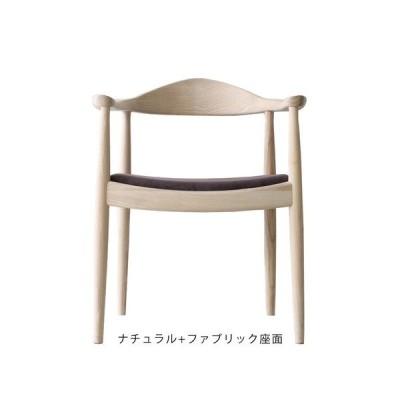 ハンス・J・ウェグナー The Chair(ザ・チェア)ナチュラル+ファブリック座面 (完成品配送 / 配送エリアにより別途追加送料あり)