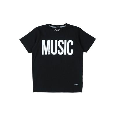 RUFF T シャツ ブラック 8 コットン 100% T シャツ