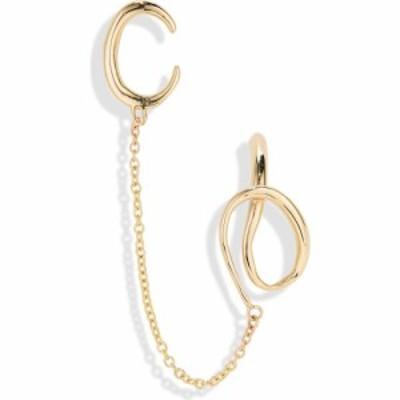 ファリス FARIS レディース イヤリング・ピアス イヤーカフ ジュエリー・アクセサリー Cobra Stud and Ear Cuff Bronze