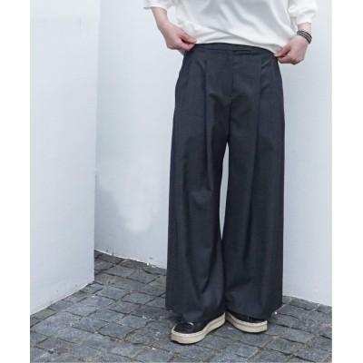 レディース ジャーナルスタンダード ラックス 【DUSAN / デュサン】DOBLE PLEAT PANTS グレーA 44