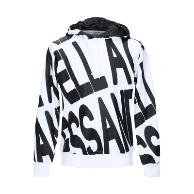 アレッサンドロデラクア ALESSANDRO DELL'ACQUA スウェットシャツ ホワイト M コットン 100% スウェットシャツ