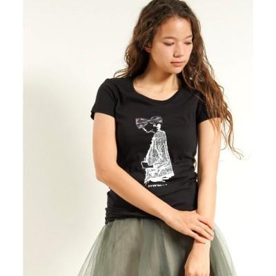 【HOLLYWOOD MADE(ハリウッドメイド)】CLASSIC WOMAN LADYS Tシャツ