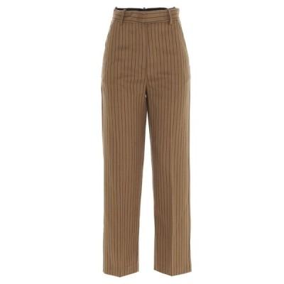 ピンコ レディース カジュアルパンツ ボトムス Pinko Straight-Leg Pinstriped Pants -