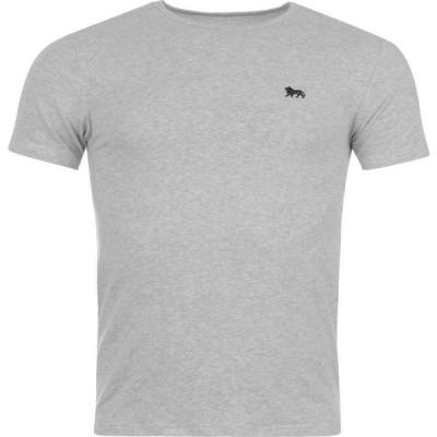ロンズデール Lonsdale メンズ Tシャツ トップス Single T Shirt Grey Marl