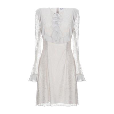 ブルマリン BLUMARINE ミニワンピース&ドレス アイボリー 38 ナイロン 100% / ポリエステル ミニワンピース&ドレス