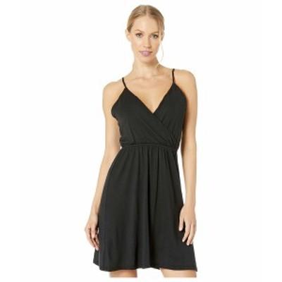 ボルコム レディース ワンピース トップス Not My Luv Cami Dress Black