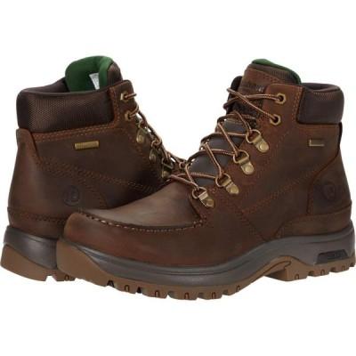 ダナム Dunham メンズ ブーツ シューズ・靴 8000 Works Moc Waterproof Boot Brown Leather