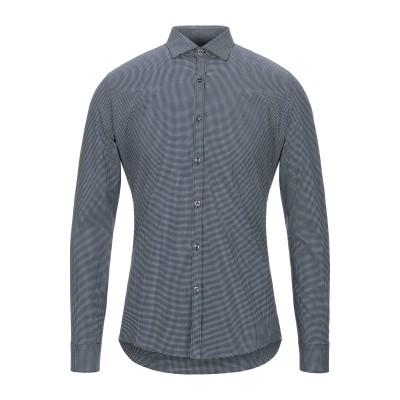 ALEA シャツ ダークブルー 39 コットン 97% / ポリウレタン 3% シャツ
