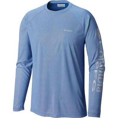 (取寄)コロンビア メンズ ターミナル ディフレクター ロングスリーブ シャツ Columbia Men's Terminal Deflector LS Shirt Vivid Blue / Cool Grey 送料無料