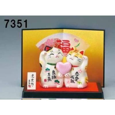 幸福を招く  楽しくお目出度い「縁起の置物」 恋愛成就 大開運招き猫     インテリア雑貨 貯金箱