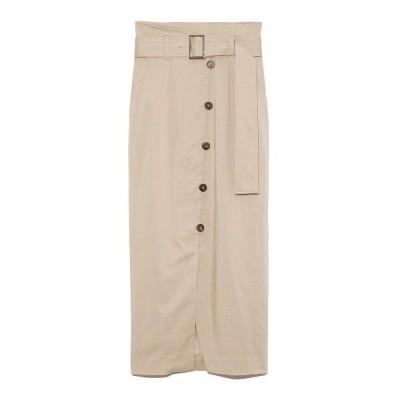 スカート アシメデザインタイトスカート