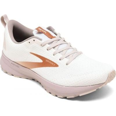 ブルックス Brooks レディース ランニング・ウォーキング スニーカー シューズ・靴 Revel 4 Running Sneakers from Finish Line White/Hushed Violet