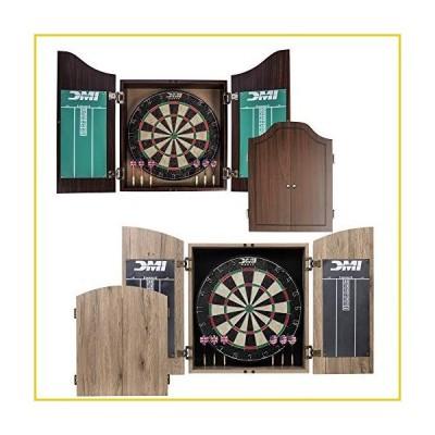 DMI Sports Dublin Bristle Dartboard Cabinet Set - Bristle Dartboard Included並行輸入品