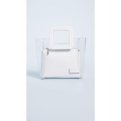 スタウド STAUD レディース バッグ Mini Shirley Bag Clear/White