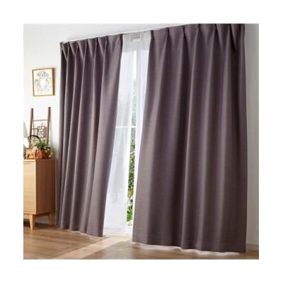 【送料無料!】無地調ストライプ柄ドビー織遮熱。遮光。防炎カーテン&昼間見えにくい。UVカットレースセット カーテン&レースセット, Curtains, sheer curtains, net curtains(ニッセン、nissen)