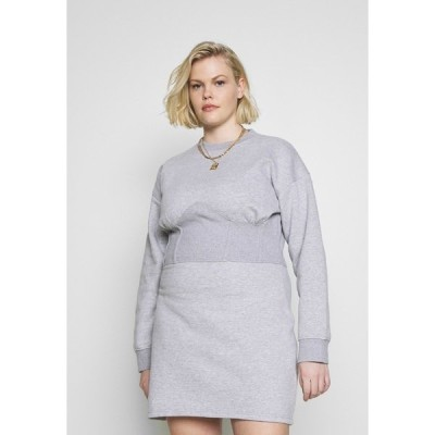 ミスガイデッド ワンピース レディース トップス CORSET DRESS - Day dress - grey marl