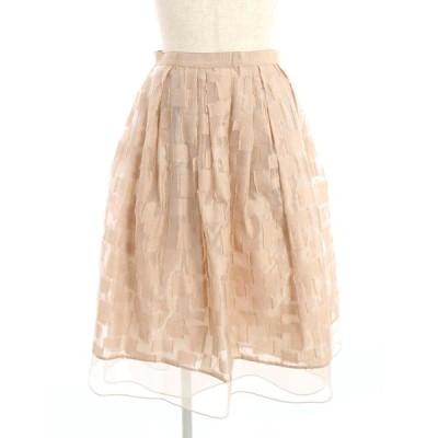 フォクシーブティック スカート 37480 Skirt 総柄 38