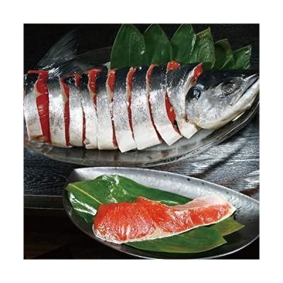 紅鮭 中塩 約2.2kg 姿切り 切り身 迫力の一尾まるごと 化粧箱