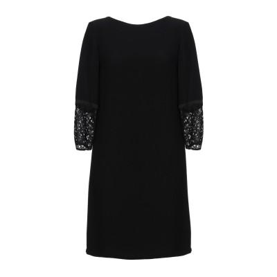 フレンチコネクション FRENCH CONNECTION ミニワンピース&ドレス ブラック 12 100% レーヨン ミニワンピース&ドレス