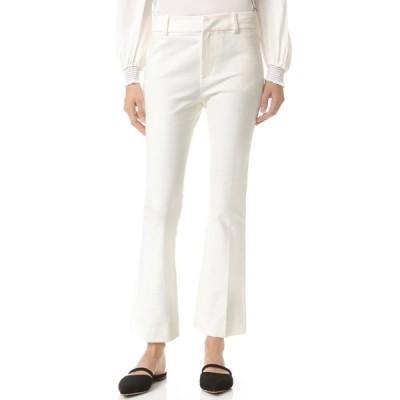 デレク ラム Derek Lam 10 Crosby レディース クロップド ボトムス・パンツ Cropped Flare Trousers Soft White