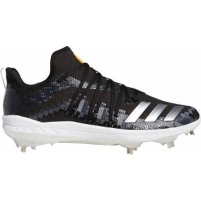 アディダス メンズ スニーカー シューズ adidas Men's adizero Afterburner 6 Grail 8-Bit Baseball Cleats Black/White