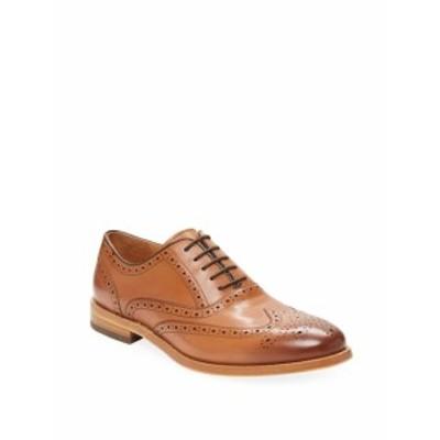 ウォーフィールド&グランド メンズ シューズ オックスフォード 革靴 Wingtip Leather Oxford