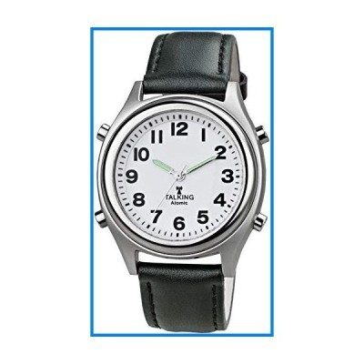 Talking Atomic Watch with Leather Band - Model 3954 by Safeguard