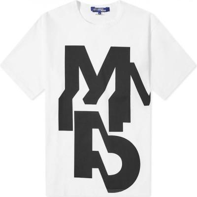 ジュンヤ ワタナベ Junya Watanabe MAN メンズ Tシャツ トップス M Print Tee White/Black