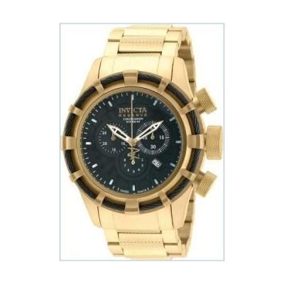 Invicta Men's 19522 Bolt Quartz Chronograph Black Dial Watch.並行輸入品