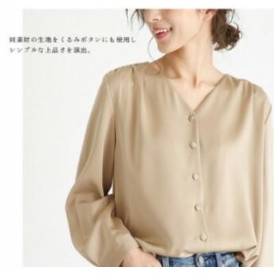 2020新しい女性スタイル Vネックシフォン快適な肌に優しいシャツ